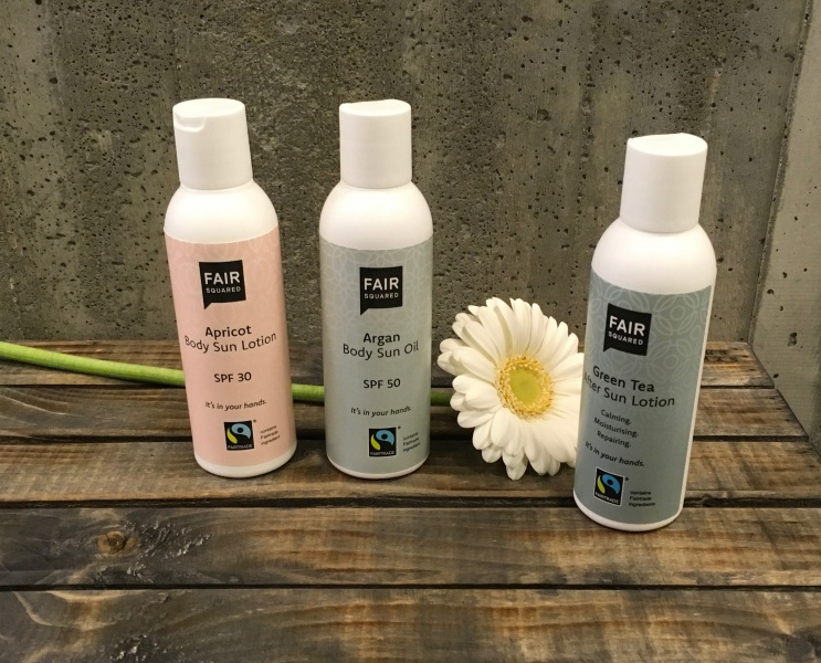 Bilde av Body Sun Lotion Fair Squared